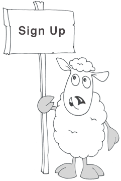 sign up sheep